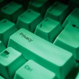 Close up on keyboard