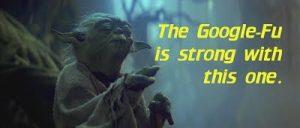 Yoda GoogleFu Meme